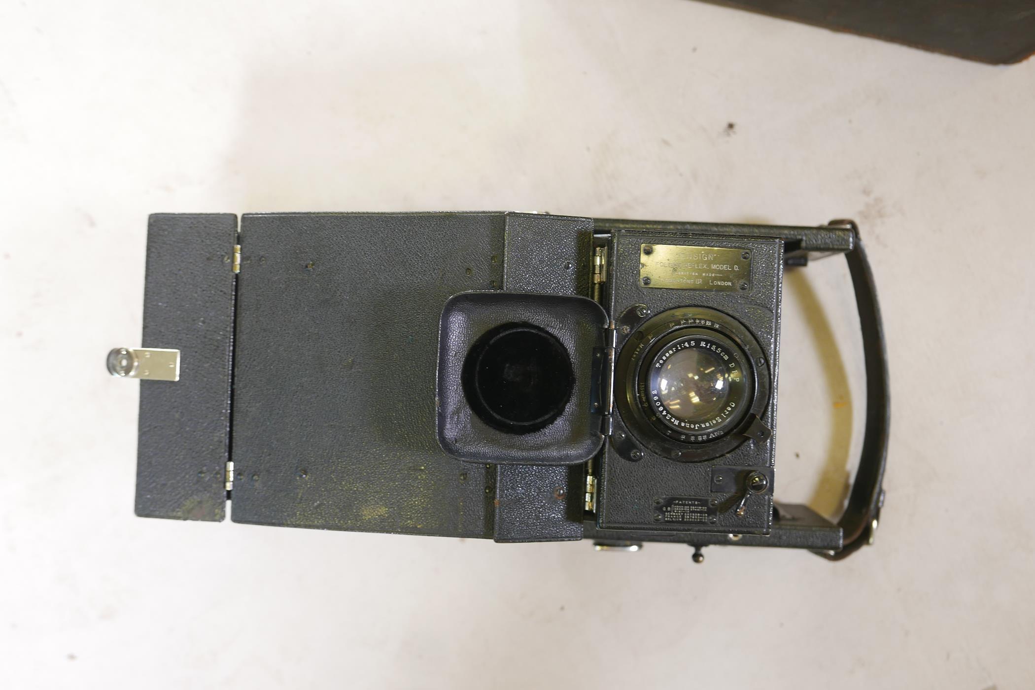 A quantity of antique photography equipment, Engsign Klito, Kodak Duaflex, No2 Hawkeye Model B, - Image 9 of 12