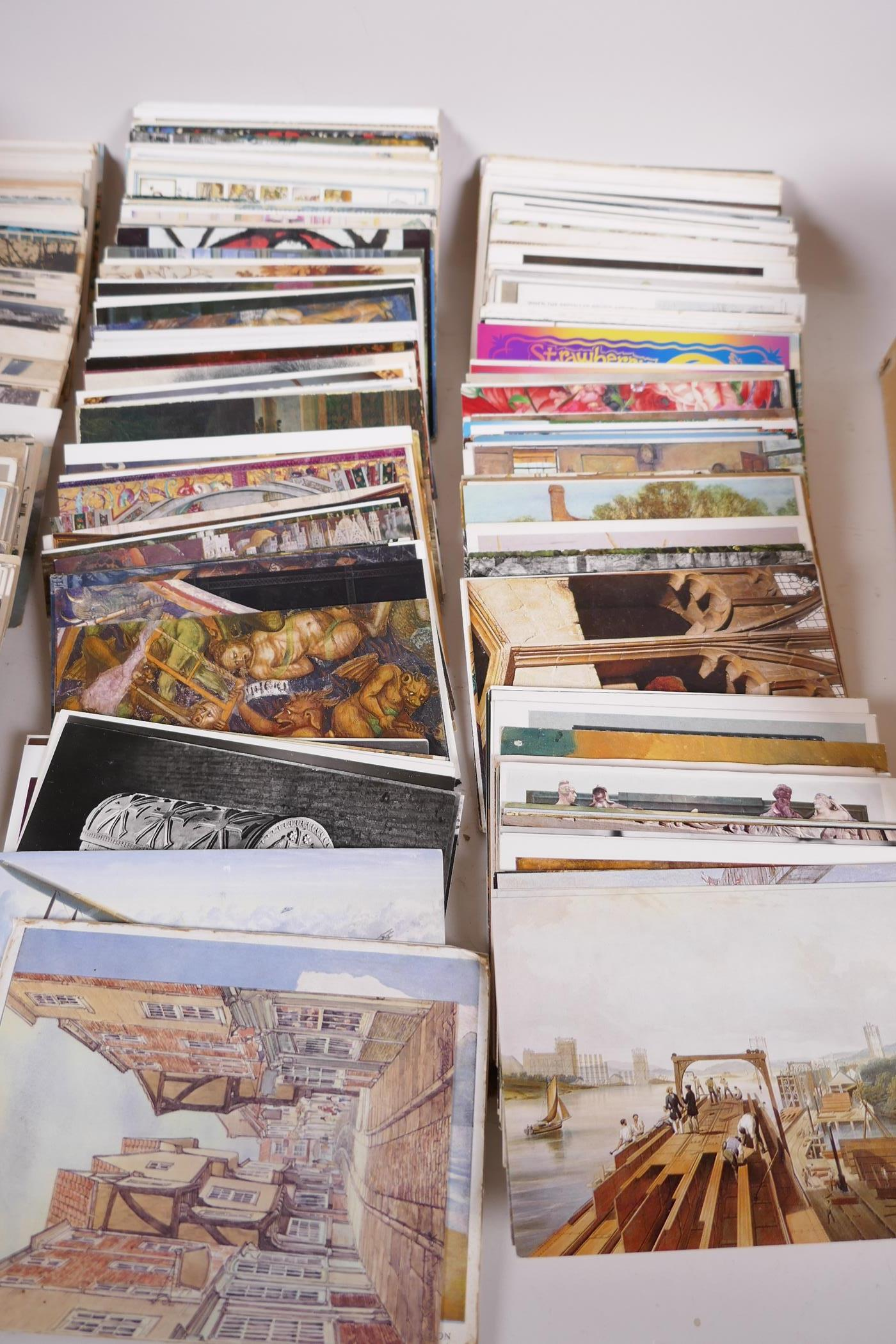 A collection of postcards, mainly European topographical, approx 750, and a further quantity of - Image 4 of 10