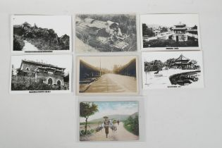 A collection of late C19th & early C20th Chinese post cards & photographs