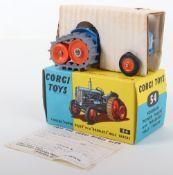 "Corgi Toys 54 Fordson ""Power Major"" with ""Roadless"" Half Tracks"