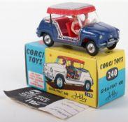 Corgi Toys 240 Ghia-Fiat 600 Jolly