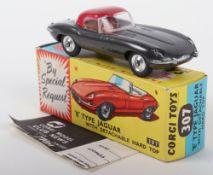 Corgi Toys 307 'E' Type Jaguar