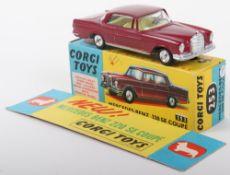 Corgi Toys 253 Mercedes Benz 220SE Coupe