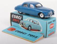Corgi Toys 208M Jaguar 2.4 Litre Saloon Car