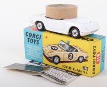 Scarce Corgi Toys 318 Lotus Elan S2 white body