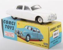 Corgi Toys 208 Jaguar 2.4 Litre Saloon Car
