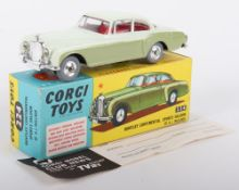 Corgi Toys 224 Bentley Continental Sports Saloon