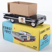 "Corgi Toys 223 Chevrolet "" State Patrol"""