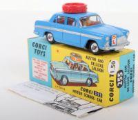 Corgi Toys 255 Austin A60 Motor School Car Export Version