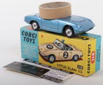 Corgi Toys 318 Lotus Elan S2.