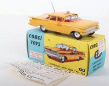 "Corgi Toys 221 ""Chevrolet"" New York Taxi Cab"