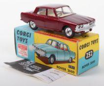 Scarce Corgi Toys 252 Rover 2000, with Trans-O-Lite headlamps