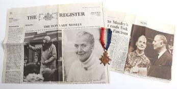 British 1914-15 Star of Sir Oswald Mosley BT Derbyshire Yeomanry