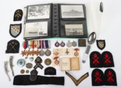 WW2 Royal Navy Long Service Medal Group of Six HMS Pembroke