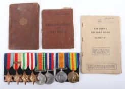 The Penney Family Medal Groups of 1st / 9th Cyclist Battalion Hampshire Regiment and Russian Operati