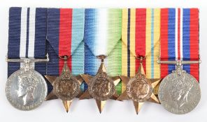WW2 Evacuation of Dunkirk & French Coast Operations 1940 HMS Venomous Distinguished Service Medal Gr