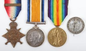 Great War 1914 Star Trio Grenadier Guards / Welsh Guards