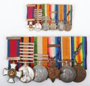 Great War & Boer War Distinguished Service Order (D.S.O) Medal Group of Six Royal Army Medical Corps