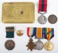 Welsh Guards Regimentally Important Distinguished Conduct Medal (D.C.M) Group of Four