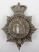 Victorian Tower Hamlets Rifles Other Ranks Shako Plate