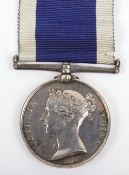 Victorian Naval Long Service Good Conduct Medal HMS Seaflower