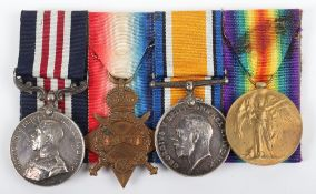 Great War Welsh Guards Military Medal (M.M) Group of Four