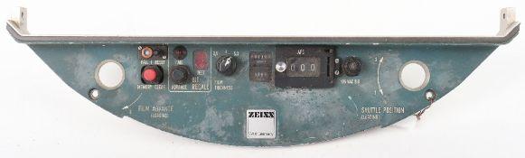 Zeiss Plane Gun Camera Control Panel