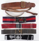 British Officers Sam Browne Belt