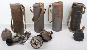 WW2 Belgium L.702 Gas Masks