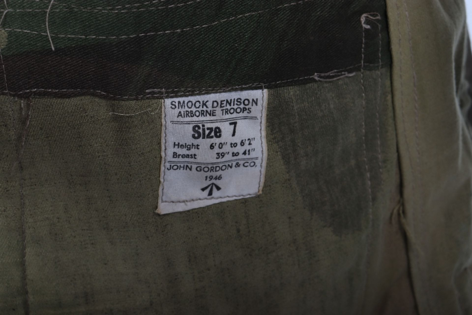 Mint Condition Large Size Airborne Forces Denison Smock - Image 11 of 17