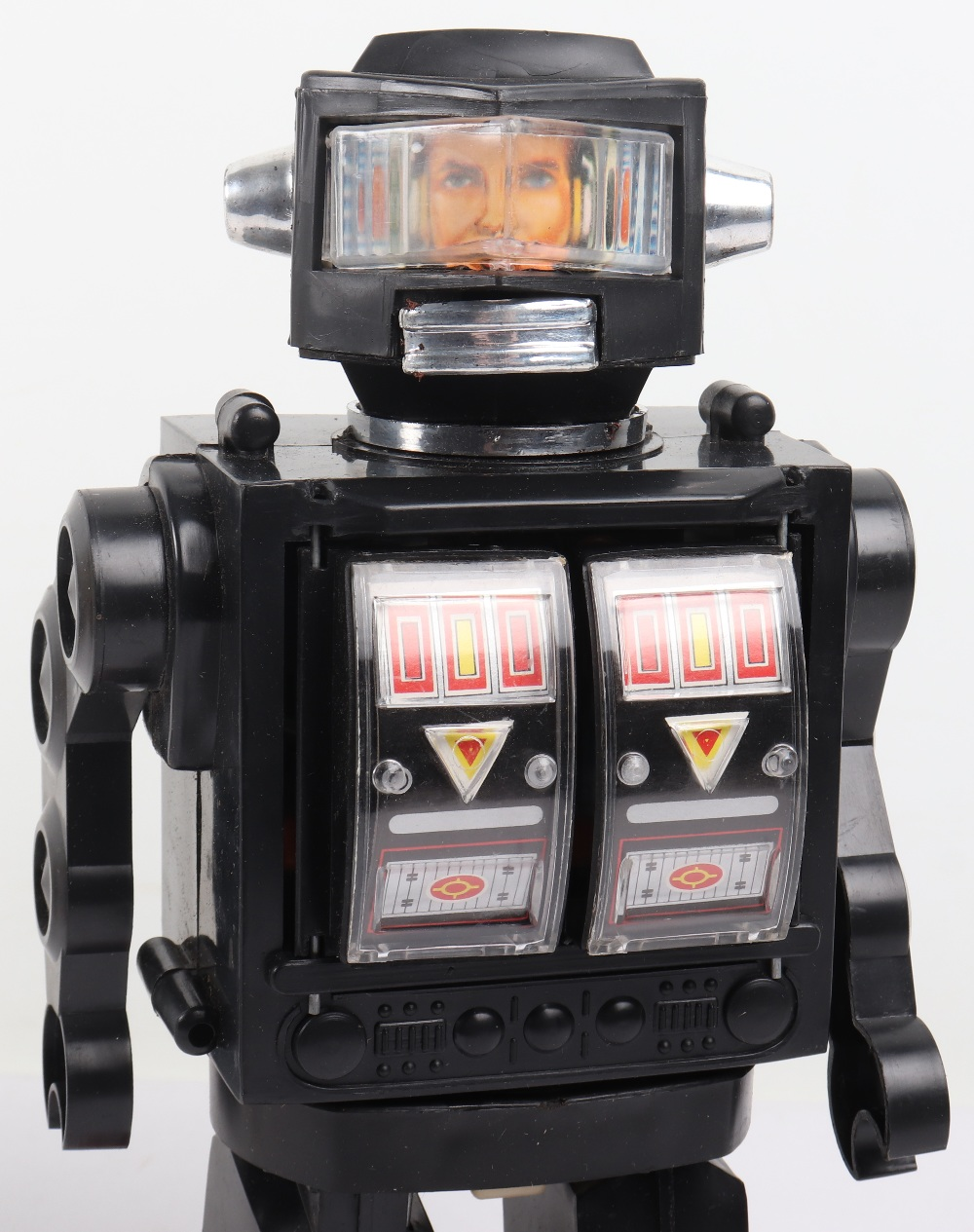 Vintage 1970s HK toys Battery operated super moon explorer Plastic robot - Image 3 of 3