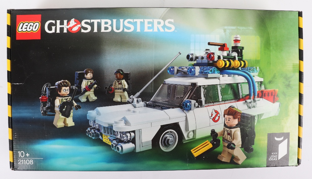 Lego ideas 21108 Ghostbusters ecto-1 boxed