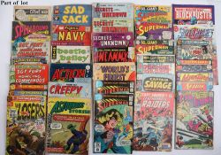 Quantity of Vintage 1960s/70s/80s comics