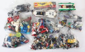 Mixed Lego loose sets and pieces