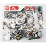 Mixed Lego Star Wars loose sets and pieces