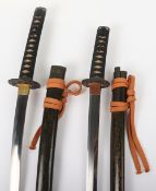 Pair of Japanese Swords Daisho
