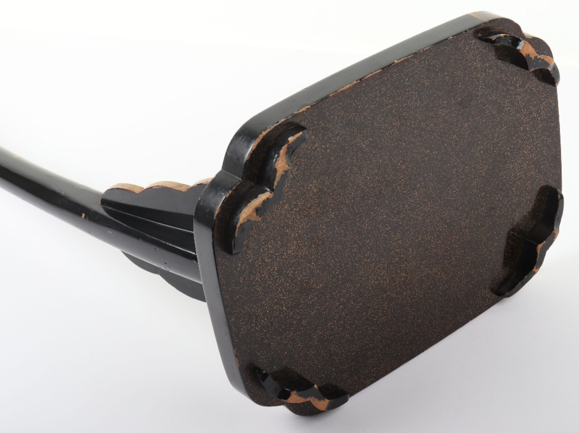 Japanese Lacquered Sword Stand Kake for a Tachi - Image 9 of 9