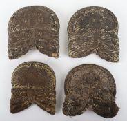 4x Large Late 19thCentury Indian Epaulettes