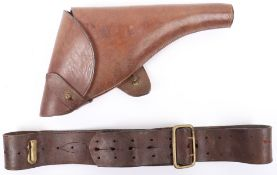 WW1 1916 Holster and Belt