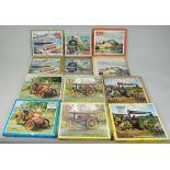 Thirteen Victory Children's wooden Jig-Saw puzzles,