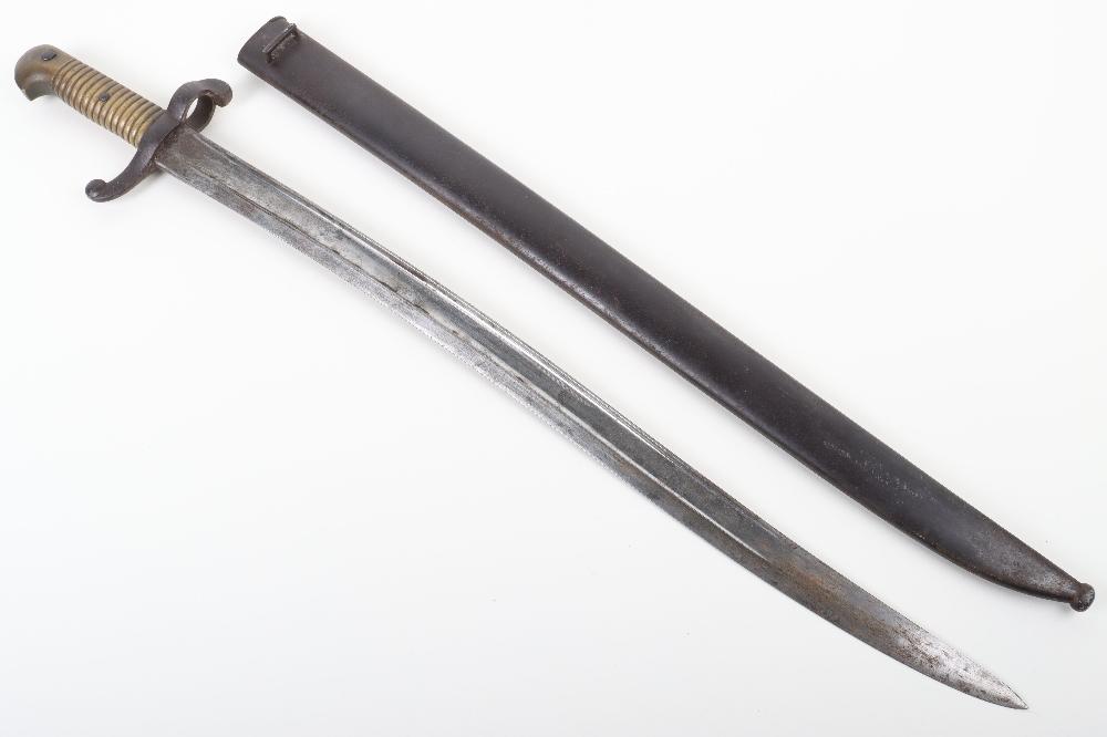 French Model 1842 Sword Bayonet - Image 10 of 10