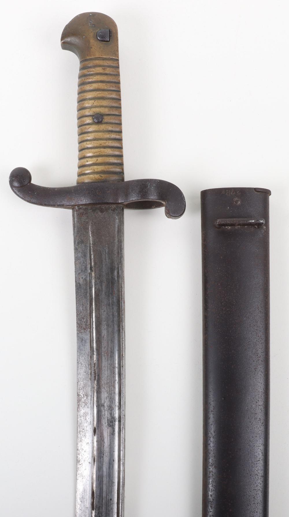 French Model 1842 Sword Bayonet