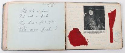 Autograph Book of Manfred Von Richthofen Interest