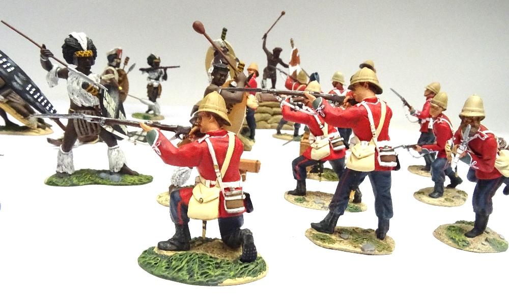 Britains Matte Zulu Wars Rorke's Drift 20030 Breaching the Wall - Image 4 of 7