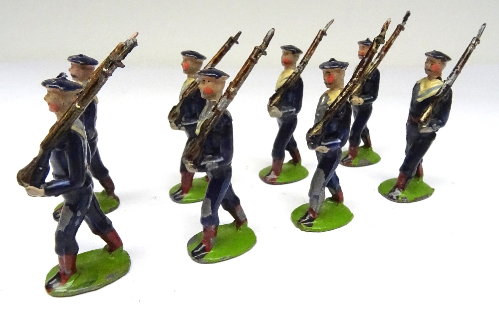 Britains small size set 22B, Bluejackets of HM Royal Navy - Image 3 of 6