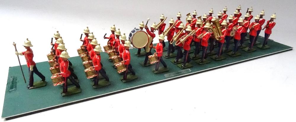 Recast Britains Royal Marine Light Infantry Band - Image 2 of 8