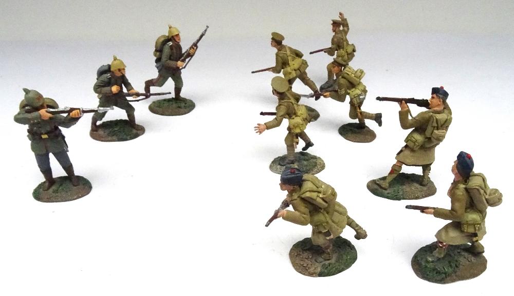 Britains First World War Matte Series 1914 set 17807 Mons - Image 3 of 5