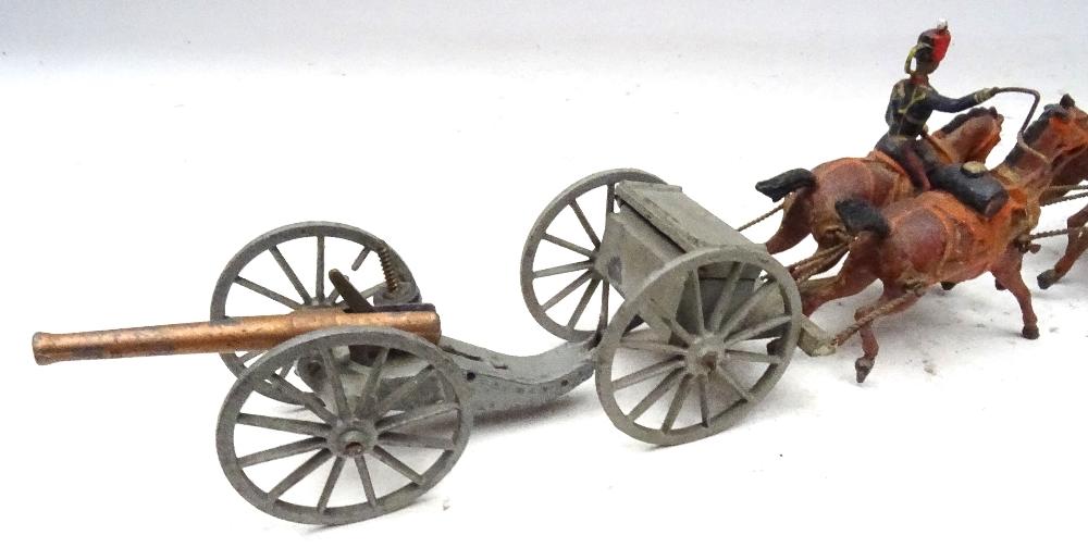 Britains set 39, Royal Horse Artillery - Image 6 of 8