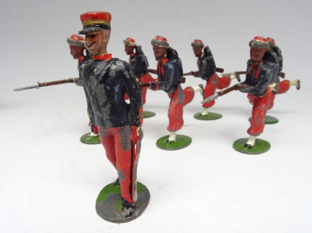 Britains set 141, French Infanterie de Ligne - Image 3 of 5