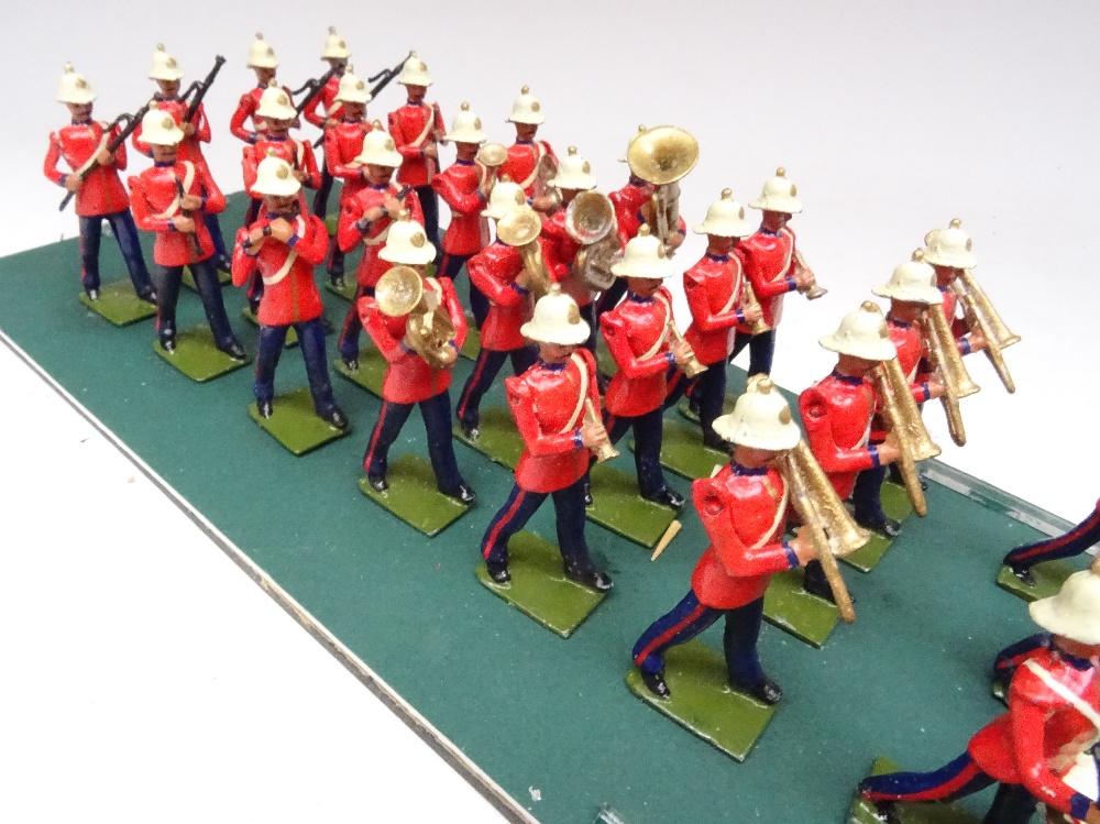 Recast Britains Royal Marine Light Infantry Band - Image 8 of 8